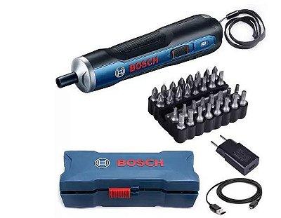Parafusadeira GO + 33 BITS 3,6 - Bosch