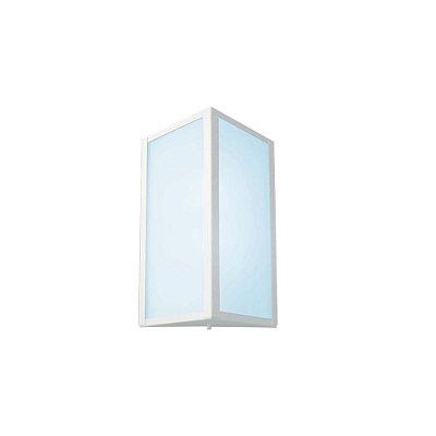 Arandela Alumínio  triângulo 283 17.5x5.5 Ideal Iluminação