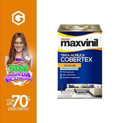 TINTA ACR FOSCO BRANCO GELO 18L NOVO COBERTEX