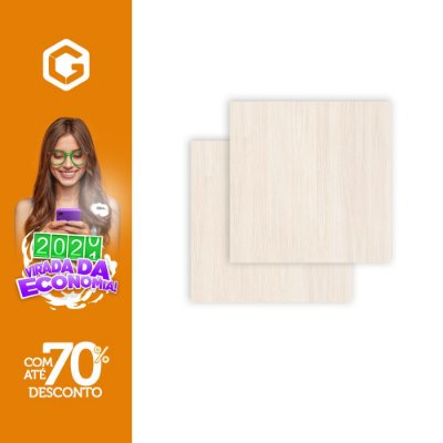 PISO 60X60 QUARUBA WHITE HD61017 M²