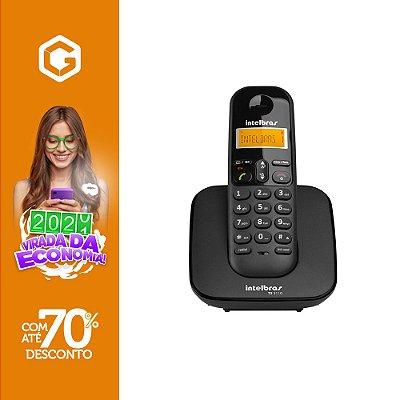TELEFONE S/FIO C/ID TS2511 PT 4122511 - INTELBRAS