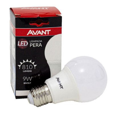 LAMP LED PERA 6500K 9W BIVOLT KL806