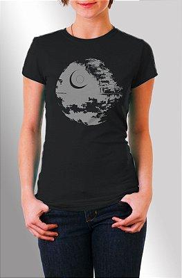 Estrela da Morte - Star Wars -  Baby Look