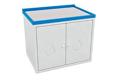 Trocador infantil com armário