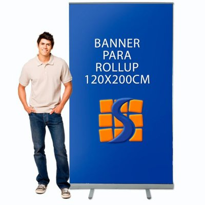 Banner para Suporte Roll Up 120x200