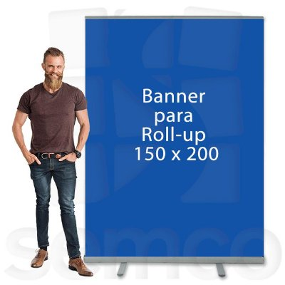 Banner para Suporte Roll Up 150x200