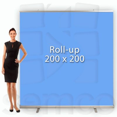 Porta Banner Roll Up 200x200