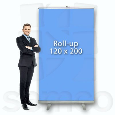 Porta Banner Roll Up 120x200