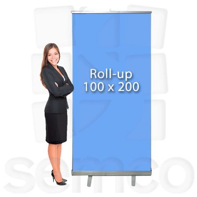 Porta Banner Roll Up 100x200