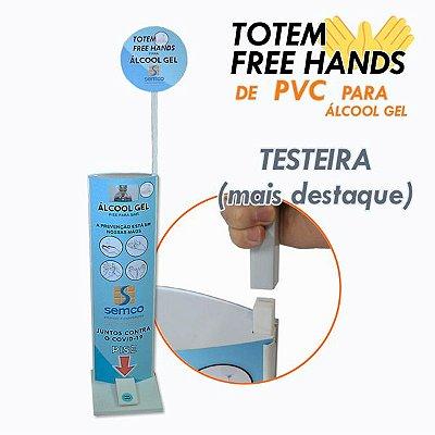 Testeira p/ Totem Higienizador
