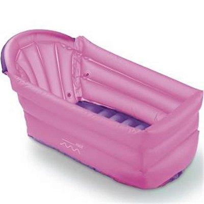 Banheira Inflavel Bath Buddy Rosa