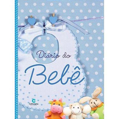 Livro - Diário do Bebê Azul