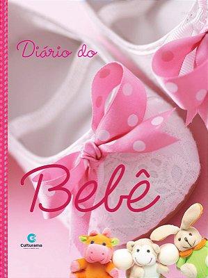 Livro - Diário do Bebê Rosa