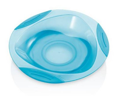 Prato Raso com Ventosa  Azul - Funny Meal