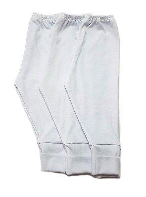 Kit de 3 calças mijão Branco