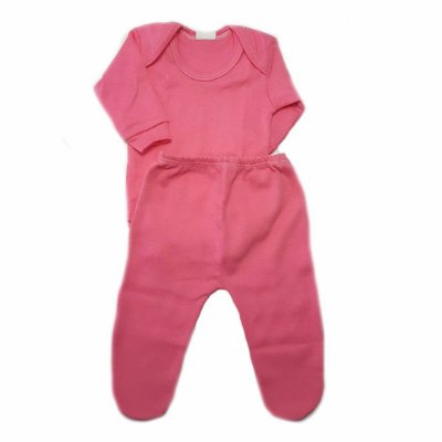 Conjunto Body + Calça Pink - Linha Prematuro