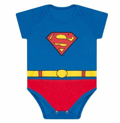 BODY DIVERTIDO SUPERMAN