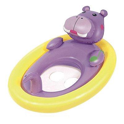 Boia Seat Inflável Hipopotamo