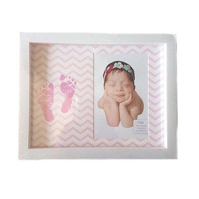 Porta Retrato 20x25cm  Baby Rosa