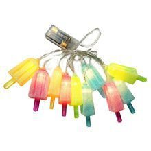 Cordão de Luz de Led - Picolés coloridos