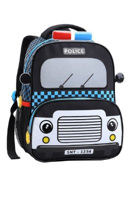"Mochila Infantil 13"" - Policia"