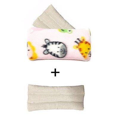 Bolsa Térmica de Sementes Safari Rosa  + Refil