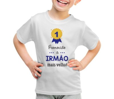 Camiseta ou Body - Promovido a Irmão Mais Velho