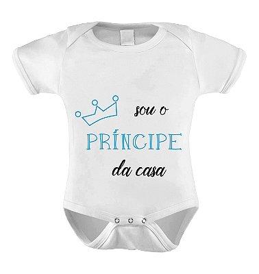 Body ou Camiseta Sou o Principe da casa