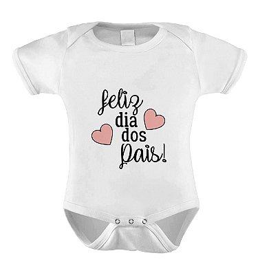 Body Divertido Feliz Dia dos Pais- Menina