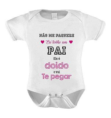 Body ou Camiseta Personalizada - Pai Bravo