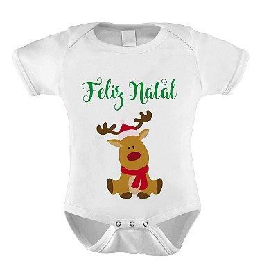 Body ou Camiseta Divertido de Natal - Feliz natal Rena