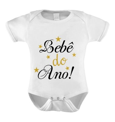 Body ou Camiseta Divertido - Bebê do Ano