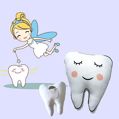 Almofada Porta Dentinho- Fada do dente