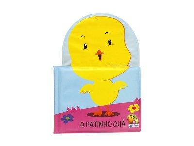 Livro Educativo Para Banho Infantil - Patinho