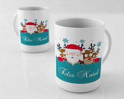 Caneca de Feliz Natal
