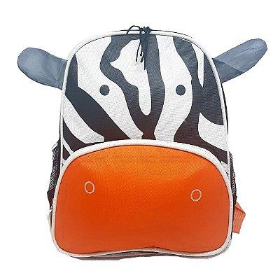 Mochila Infantil Bichinhos - Zebra