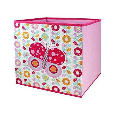 Caixa Organizadora de Brinquedos - Borboleta