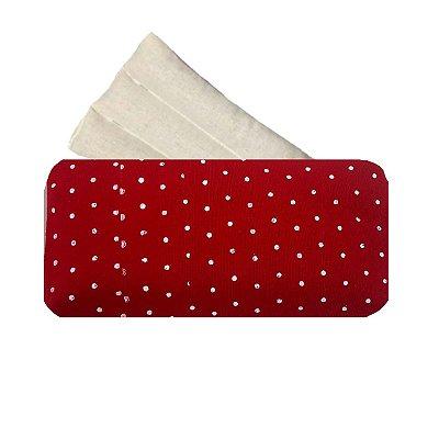 Bolsa Térmica com Sementes Vermelha