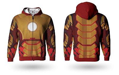 Casaco Moletom Infantil Vingadores/ Avengers - Homem De Ferro