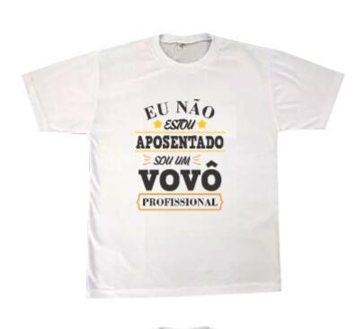 Camiseta personalizada Sou um vovô Professional