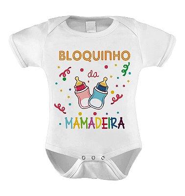Body ou Camiseta Divertida - Bloquinho da Mamadeira