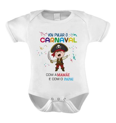 Body ou Camiseta Divertida - Piratinha
