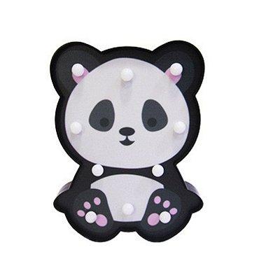 Luminária Led Abajur Amigos da Natureza - Panda