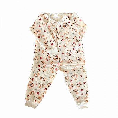 Pijama de Soft Infantil Raposinha
