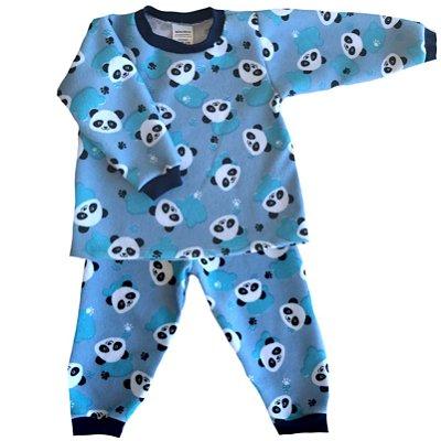 Pijama de Soft Infantil Pandinha