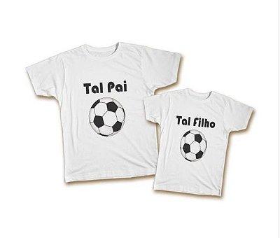 Kit Camiseta e Body - Tal Pai Tal Filho - Bola