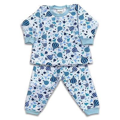 Pijama de Soft Infantil Balãozinho