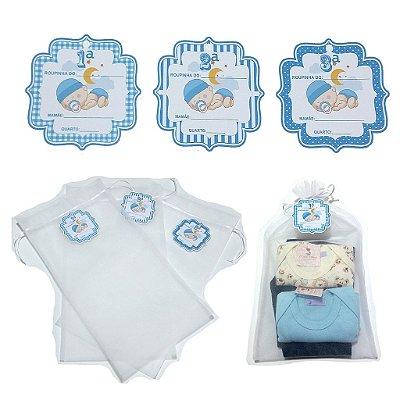 Saquinhos de maternidade -3 unidades de menino