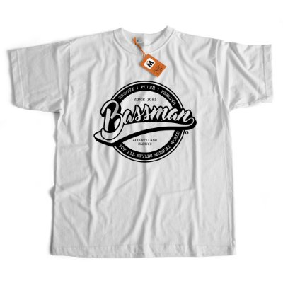 Camiseta Bass Man