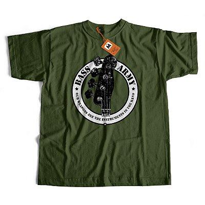 Camiseta Bass Army Hand